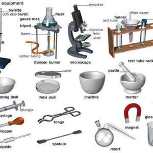 Laboratory equipment of schools